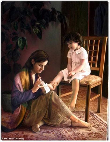 Làm sao để con gái không bị cha cho ăn tát?