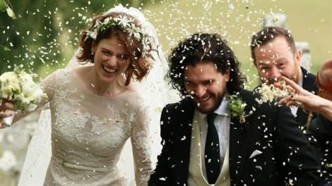 Không đợi đến 'Trò chơi vương quyền 8', Jon Snow đã kết hôn