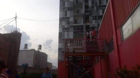 Cháy căn hộ tại chung cư I-Home Gò Vấp