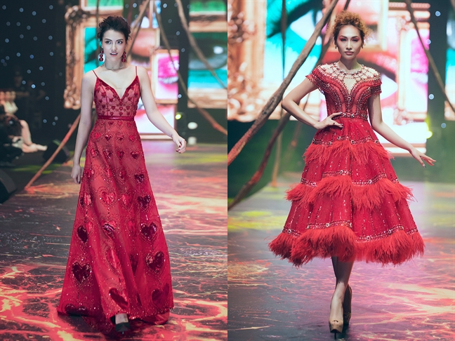 Pham Huong cuon hut voi hinh tuong nu chien binh trong show Do Long