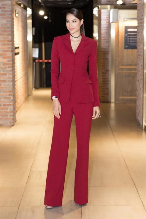 Vest ống suông - Items tôn chiều cao được sao Việt lăng xê
