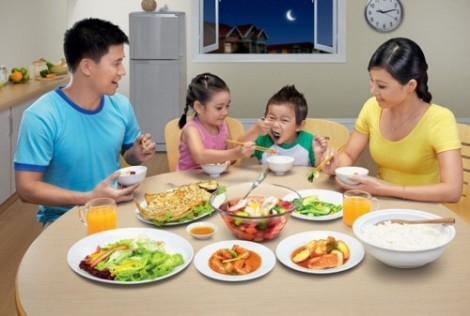 Bữa cơm gia đình luôn rất quan trọng