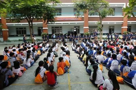 Khai mạc Hội trại tiếng Anh Nam Sài Gòn lần 4