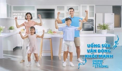 Lan tỏa thông điệp 'Uống sữa. Vận động. Khỏe mạnh' qua điệu nhảy flashmob