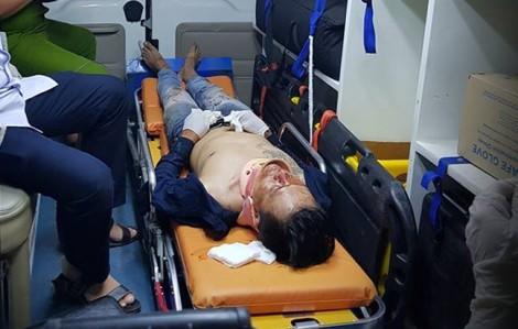 Sau trận Argentina - Nigeria, một thanh niên nghi ngã lầu chấn thương sọ não