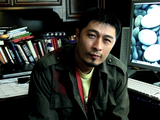 Charlie Nguyen lam phim vi... nho con gai