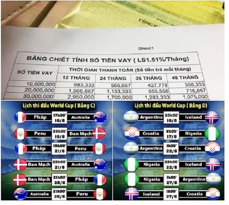World Cup, mùa làm ăn của dịch vụ cho vay 'cắt cổ'