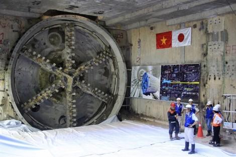 Khoan xong đường hầm thứ 2 tuyến metro Bến Thành – Suối Tiên