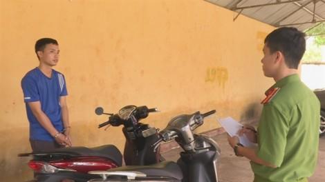 Nam thanh niên trộm 3 chiếc xe máy để trả nợ tiền cá độ bóng đá