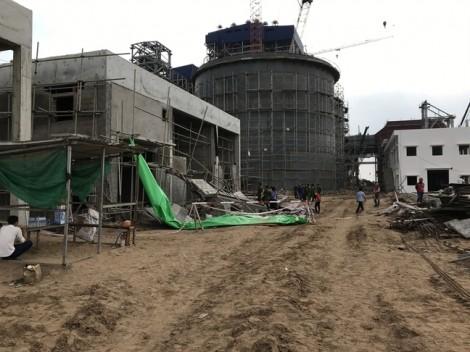 Tai nạn lao động trong nhà máy nhiệt điện, 1 người chết, 4 người bị thương