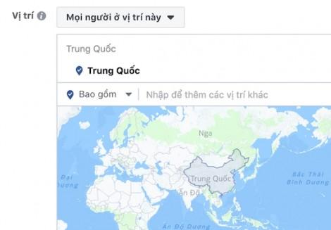 Facebook bỏ Trường Sa và Hoàng Sa của Việt Nam ra khỏi bản đồ Trung Quốc