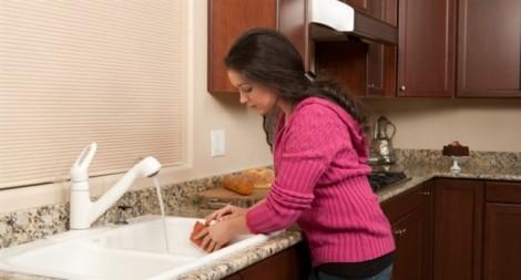 Khăn đa năng trong bếp có thể gây ngộ độc