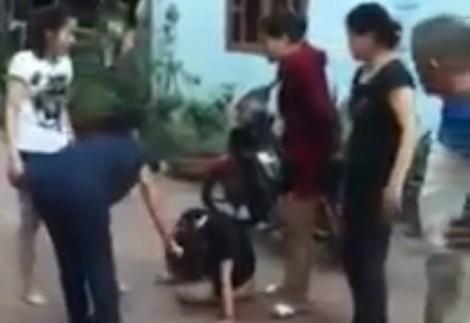 Công an vào cuộc điều tra vụ đánh ghen lột đồ dã man ở Quảng Ninh