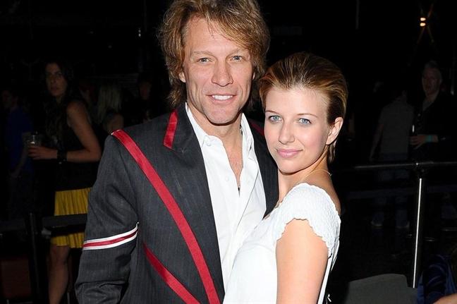 Ngoi sao nhac rock Jon Bon Jovi 'chet lang' khi biet con gai nghien ma tuy