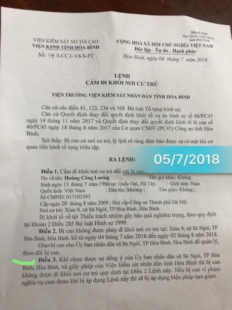 'Lệnh cấm' kỳ lạ của viện kiểm sát với bác sĩ Hoàng Công Lương