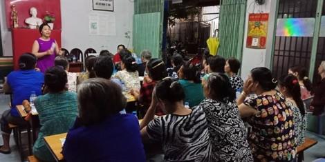 Q.Tân Bình: Tư vấn nghề giúp việc nhà cho lao động nữ