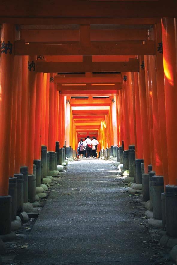 Cham vao Kyoto