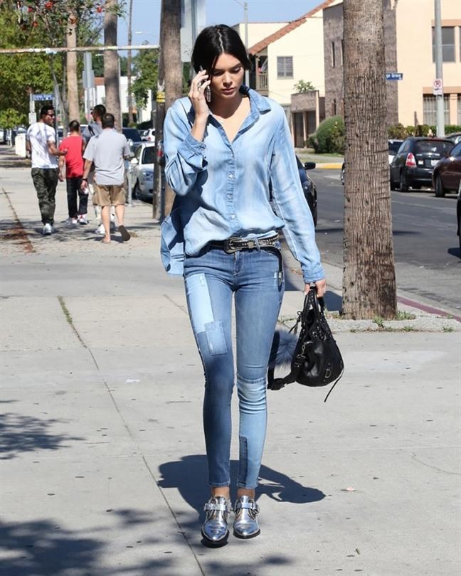 Chon jeans cho nang 'nam lun' an gian chieu cao