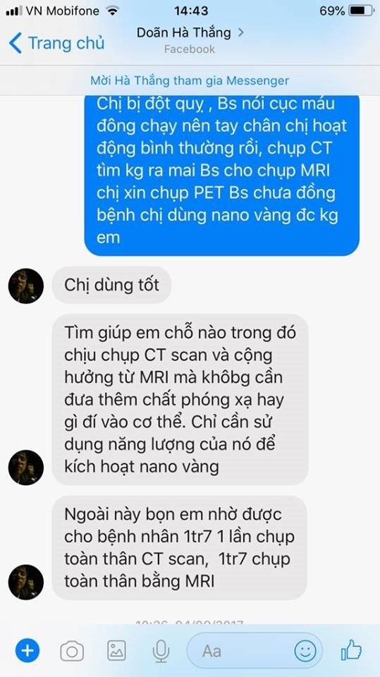 Di tim su that uong nano vang chua ung thu