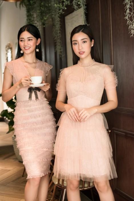 Đỗ Mỹ Linh, Thanh Tú kiêu kỳ với 7 sắc váy ren cho mùa hè nhiệt đới