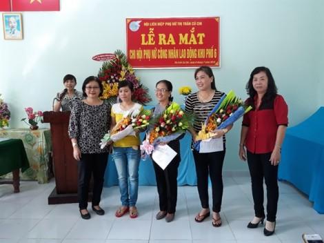 H.Củ Chi: Ra mắt hai chi hội  nữ công nhân lao động
