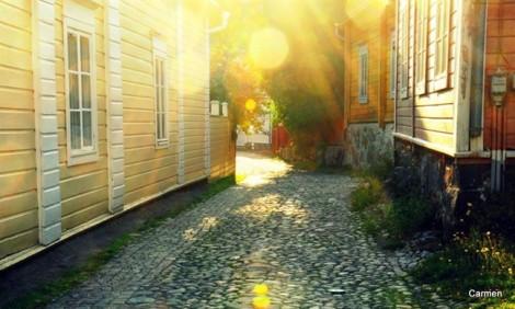 Mùa hè ở 'thành phố gỗ' Porvoo