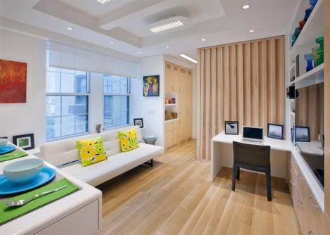 Căn hộ 32m2 đẹp mê hồn với không gian sống trang nhã, tiện nghi