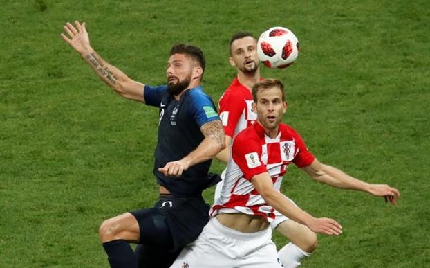 Chung ket World Cup 2018: Nguoi Phap 'bung no' sau khi thang dam Croatia 4 – 2