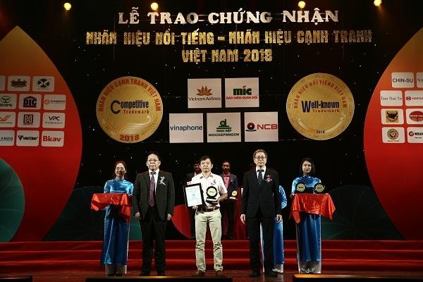 Nhan hang sua Co Gai Ha Lan dat Top 10 nhan hieu noi tieng Viet Nam 2018