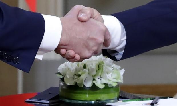 Tong thong Trump va Putin de dat la thuong trong thuong dinh lich su Nga - My