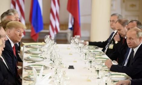 Tổng thống Trump và Putin dè dặt lạ thường trong thượng đỉnh lịch sử Nga - Mỹ