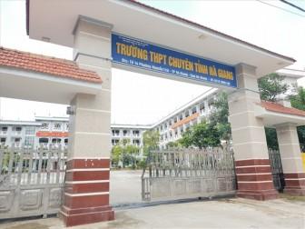 Vụ nâng khống điểm ở Hà Giang: Dù thế nào, trường vẫn mong điều tốt nhất cho các em