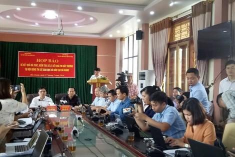 Phó trưởng phòng Sở GD-ĐT Hà Giang chỉ mất 6 giây để nâng khống điểm thi