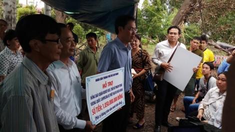 TP.HCM trao gần 1,2 tỷ đồng cho kiều bào bị hỏa hoạn ở Phnom Penh