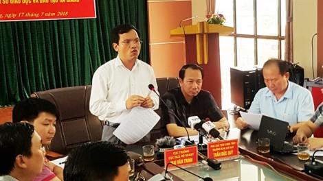 Vụ nâng khống điểm thi ở Hà Giang: Phó phòng khảo thí lợi dụng quy trình lỏng lẻo?