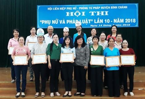 Hội thi 'Phụ nữ và pháp luật': Đưa chính sách pháp luật vào cuộc sống