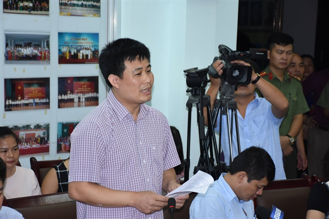 8 bai thi o Lang Son bi giam diem sau khi tham dinh