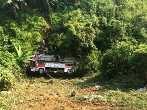 Nhiều nạn nhân vụ lật xe khách ở Cao Bằng đang trong cơn nguy kịch