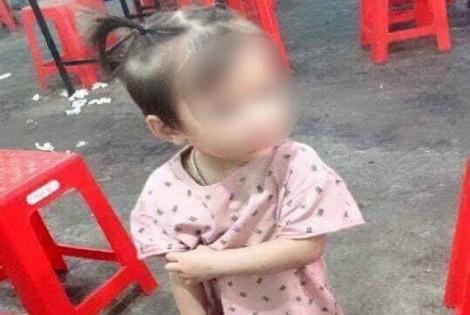Bé gái 2 tuổi mất tích bí ẩn khi chơi ở sân nhà