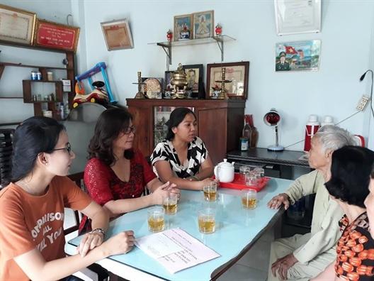 Q.Tan Binh: Nu thuong nhan cham lo gia dinh chinh sach
