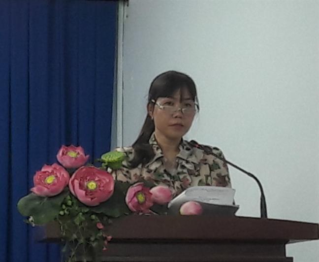 Quan 9: Trao 210 suat hoc bong Nguyen Thi Minh Khai nam hoc 2018 - 2019