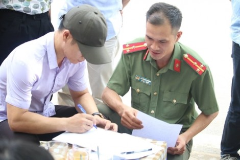 Bài thi THPT ở Sơn La bị tự ý đem ra khỏi khu vực bảo quản