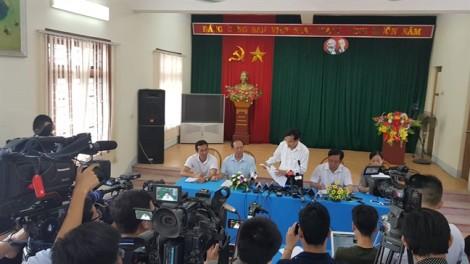 Bài thi THPT ở Sơn La bị thay đổi trước khi đưa vào máy chấm thi