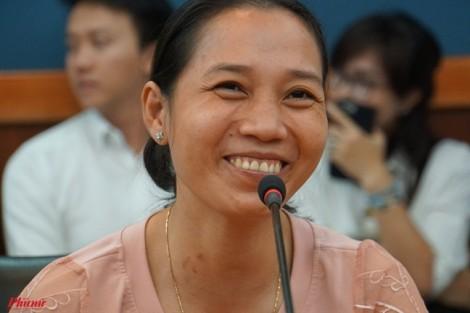 Những nụ cười rạng rỡ sau khi vợ tặng chồng một phần gan