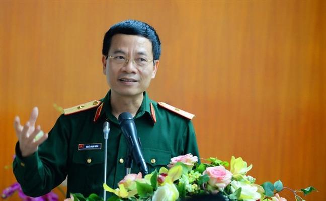 Thieu tuong Nguyen Manh Hung duoc giao quyen Bo truong Bo Thong tin - Truyen thong