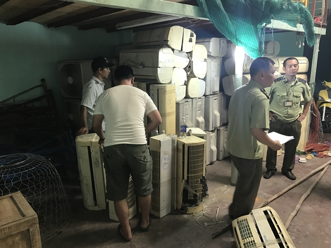 Truy den cung container nhap phe lieu vao Viet Nam