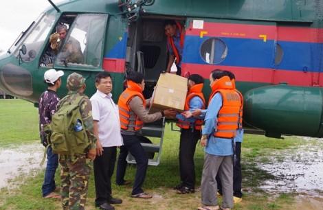 Gần 1.000 cán bộ, chiến sĩ Việt Nam hỗ trợ Lào khắc phục hậu quả sự cố vỡ đập thủy điện