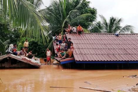 Vỡ đập thủy điện ở Lào: Sau một tiếng nổ, nước đổ như thác lũ!