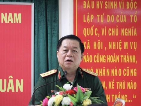 Thượng tướng Nguyễn Trọng Nghĩa: Tập trung cứu nạn, tìm rõ nguyên nhân máy bay Su-22 rơi