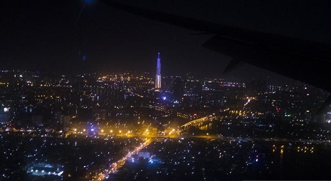Can canh toa thap cao nhat Viet Nam Landmark 81 chinh thuc di vao hoat dong